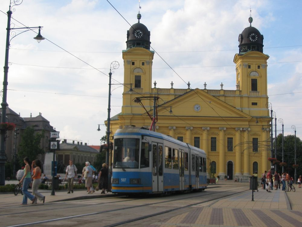 Debrecen Hungary  City new picture : Trams in Debrecen, Hungary | Andrew Grantham